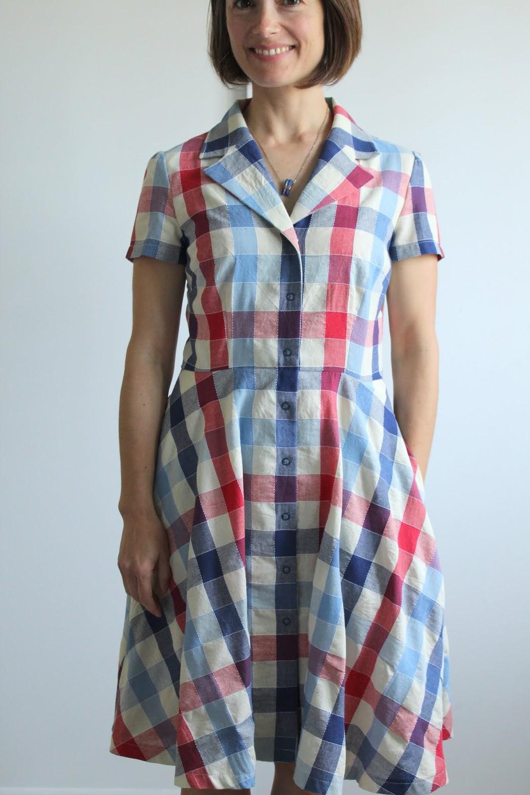 two summer shirtdresses  m6891  u2013 bea  u0026 lucille